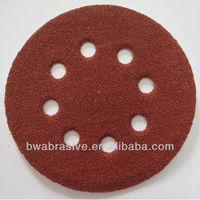 abrasive disk of diferent size,velcro backing