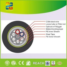 Made in China high quality outdoor used fiber fiber optic cable GYTY53 6 core cable fiber optical with competitive price