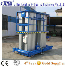 Easy Operation Single Person Hydraulic aluminum Lifts
