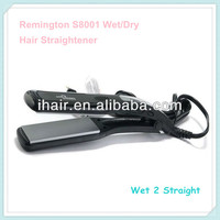 LCD Remington Professional Wide Plate Cheap Wet to Dry Hair Straightener Flat Iron