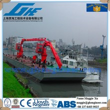 folding ship boat lifting Crane marine equipment