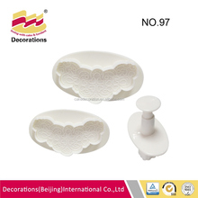 Durable calla sugarcraft/fondant plunger cutter