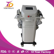 Multi slimming machine combined lipo laser and cavitation/vacuum cavitation for weight loss