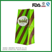 lunch paper bags printed with customer logo