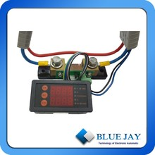 MTX105P-50S25 battery panel meter, 10-40V DC volt meter, amp hour meter,easy install plug kit, battery SOC