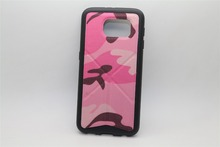 wholesale cell phone case camo camouflage frosted stand cover For samsung s6