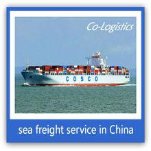 Carga de mar de China a Chile