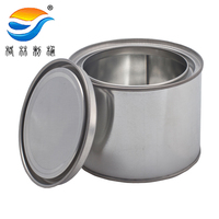 0.5L metal tin can for paint, container for paint,tins
