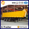 Chengda trailer enclosed box semi trailer