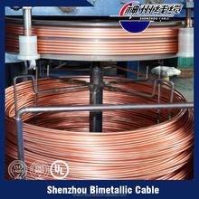 Nuevos productos en el mercado de china esmaltado de aluminio revestido de cobre cables