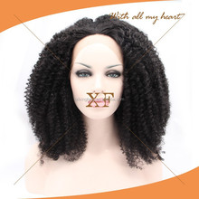 Top quality very natural looking high temperature fiber cheap synthetic wig for women