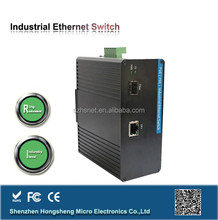 Flexible load distribution control industrial managed network 4 port gigabit POE switch