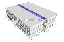 Economic, modular containr field camp