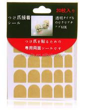double sided adhesive nail glue for false nail tips