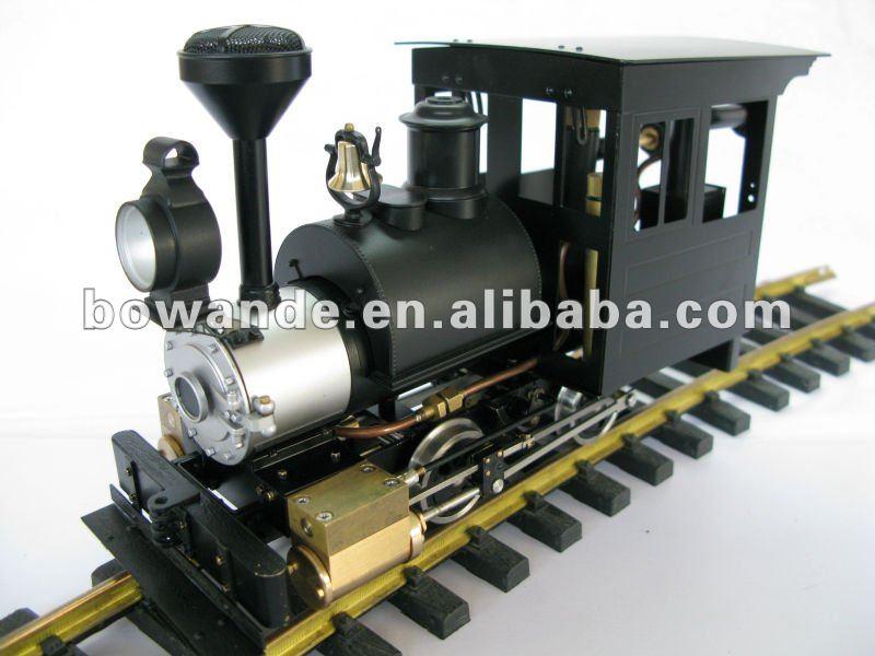 Modelo de locomotora de vapor