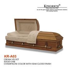Papier chinois cercueil/cercueils pour les funérailles