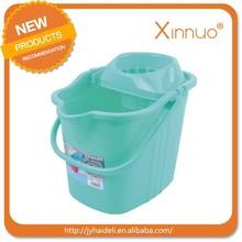17L Plastic Household Mop Bucket with Wheel big size 228 Fashion Design mop bucket