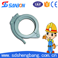 concrete pump used high pressure hose clamps