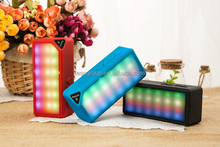 the most popular hot sale Pulsing LED X3S Dazzle color bluetooth speaker support led colorful function