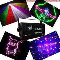 2W RGB Animation Laser Light Led Light chrismas DJ Stage Lighting