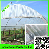 High quality agriculture pe film 100% virgin HDPE greenhouse uv treated plastic/roof covering plastic made in china