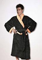 240g coral fleece men's pajama men's bathrobe