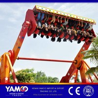 hot sale theme park adult amusement ride top spin space travel for sale