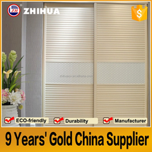 China Factory direct sale bedroom double color wardrobe