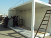 20ft /40ft size container house for camp use / prefab container house
