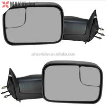 Ram Pickup Truck Towing Manual Side View Door Mirror