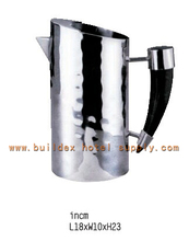 Water pitcher/stainless steel/specail design/hammered