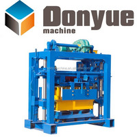 QT40-2 stable small scale concrete blocks and brick machine