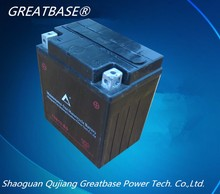 GREATBASE brand with best price lead acid jet ski battery 12N10-BS 10Ah 12V mf motorcycle battery
