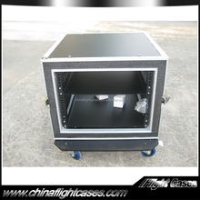8u aluminum flight case with Iron Drawer for amplifier for sale from China