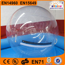 EN15649 TPU or PVC giant indoor floating water pool ball