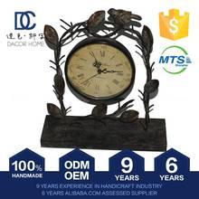 Premium Quality Newest Model Advantage Price Oem Service Copper Table Clock Desk Clock Craft Home