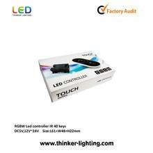 Remote 24key control add power supply 5050 SMD Flexible 300 Led Strip Light Non-Waterproof RGB