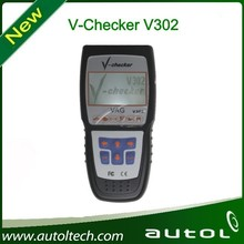 The V-checker V302 code reader is specially designed to provide diagnosis service for all electronic system of VAG family cars