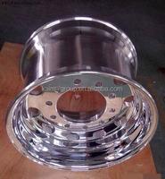 8.5- 22.5 truck aluminum wheels rim / truck alloy wheels with 10 holes