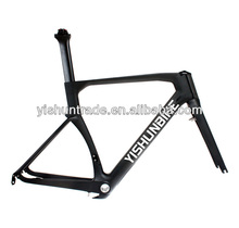 2014 YISHUNBIKE China professional 700c carbon fiber bike frame BSA BB30 BB86 road lightest carbon bike frame YS-085