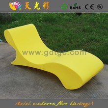 TGC plastic lawn chairs and LED illuminated furniture for outdoor furniture, hotel furniture