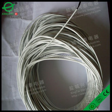4mm type carbon fiber wire with teflon insulation