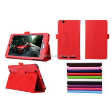 7 inch pu leather slim folding tablet smart case,for acer smart case