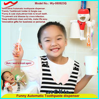 Wholesale personal plastic toothpaste dispenser funny promotion gift