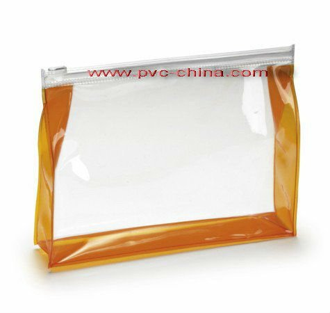 Clear PVC Cosmetic Pouch with Zipper