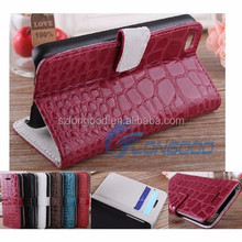 Wallet leather case/Leather flip case for Iphone/ case leather for Iphone5C