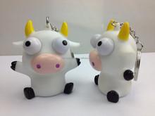 cow pvc yellow bear shape toys