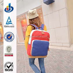 New standard backpack college bag for girls