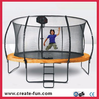 CreateFun Spring jumping Outdoor Carbon Fiber 6FT-16FT trampoline with CE,GS for Europe