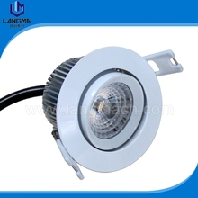 Langma 4 Years Warranty 70mm Cutout Driverless Dimmable Ra>80 6W AC COB led downlight fittings Lamp Warm Cold White No driver